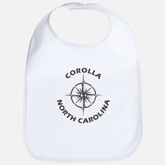 North Carolina - Corolla Baby Bib