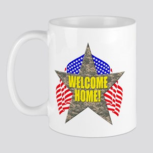 USA Troops Welcome Home Mug