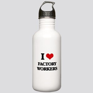 I Love Factory Workers Stainless Water Bottle 1.0L