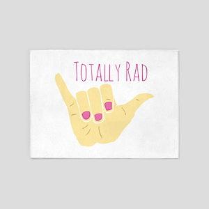Totally Rad 5'x7'Area Rug