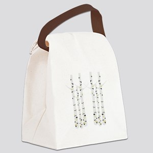 Birch Trees Canvas Lunch Bag
