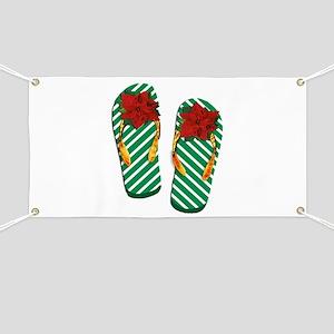Xmas Flip Flops Banner