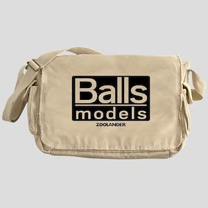ballmodels_trans Messenger Bag