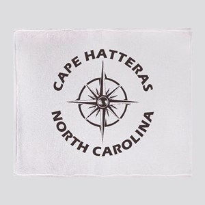 North Carolina - Cape Hatteras Throw Blanket