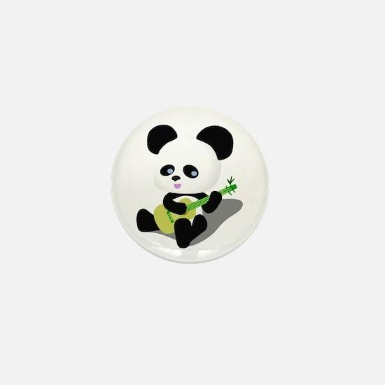 Panda Ukulele Mini Button