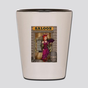 Saloon Shot Glass