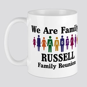 RUSSELL reunion (we are famil Mug