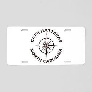 North Carolina - Cape Hatte Aluminum License Plate