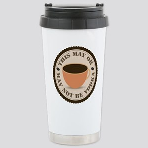 Maybe Vodka Stainless Steel Travel Mug