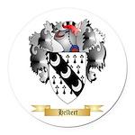 Helbert Round Car Magnet