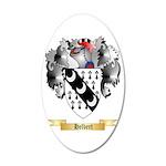 Helbert 20x12 Oval Wall Decal