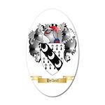 Helbert 35x21 Oval Wall Decal