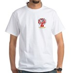 Heitz White T-Shirt