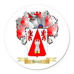 Heinze Round Car Magnet