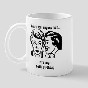 Its my 66th Birthday (vintage Mug