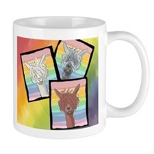 Alpacas All Over! Mugs