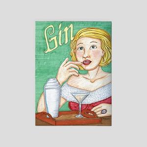 Gin 5'x7'Area Rug
