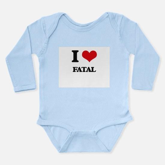 I Love Fatal Body Suit