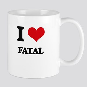 I Love Fatal Mugs