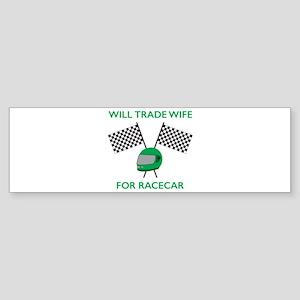 Trade Wife Bumper Sticker
