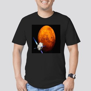 Orion Approaching The Men's Fitted T-Shirt (dark)