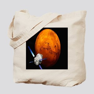 Orion Approaching The Red Planet Tote Bag