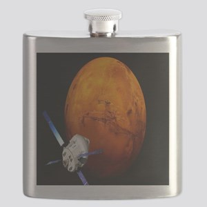 Orion Approaching The Red Planet Flask