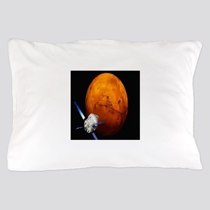 Orion Approaching The Red Planet Pillow Case