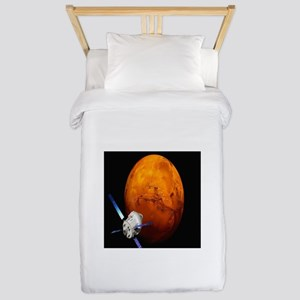 Orion Approaching The Red Planet Twin Duvet