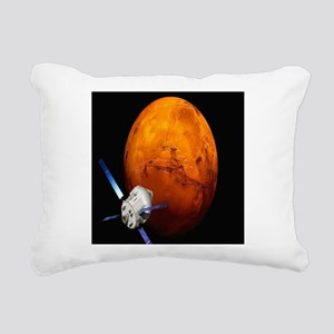 Orion Approaching The Re Rectangular Canvas Pillow