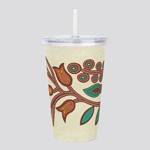 Ojibway Floral Acrylic Double-wall Tumbler