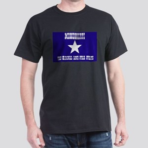 Mississippi Bonnie Blue Flag Dark T-Shirt