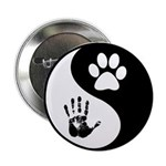 """Balancing Humanity 2.25"""" Button (10 Pack)"""