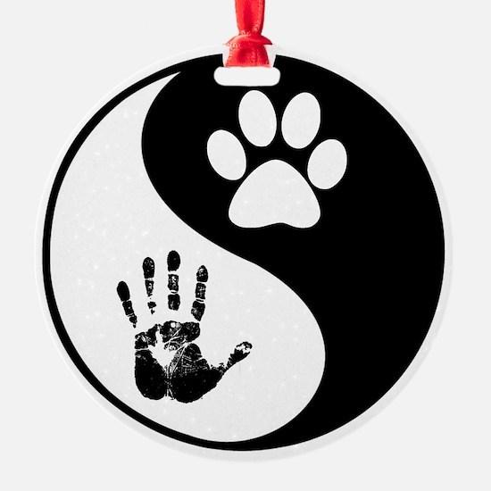 Balancing Humanity Ornament