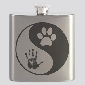Balancing Humanity Flask