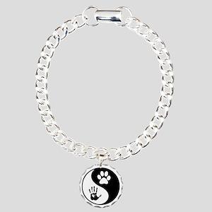 Balancing Humanity Charm Bracelet, One Charm