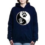 Balancing Humanity Women's Hooded Sweatshirt