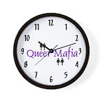 Queer Mafia Wall Clock