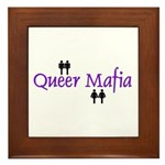Queer Mafia Framed Tile
