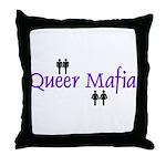 Queer Mafia Throw Pillow