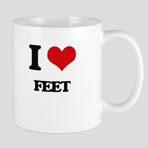 I Love Feet Mugs
