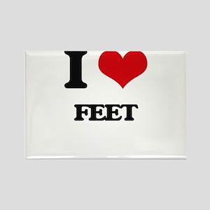 I Love Feet Magnets
