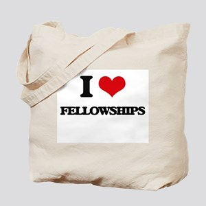 I Love Fellowships Tote Bag