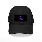 Lavender Lambda Black Cap