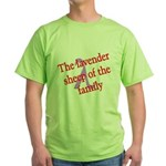 Lavender Lambda Green T-Shirt