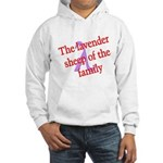 Lavender Lambda Hooded Sweatshirt