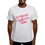 Lavender Lambda Light T-Shirt