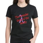 Lavender Lambda Women's Dark T-Shirt