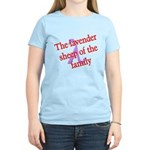 Lavender Lambda Women's Light T-Shirt