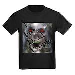 Paranormal Geeks Kids Dark T-Shirt